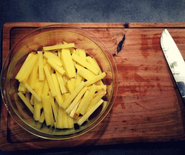 Pommes frites i Actifry