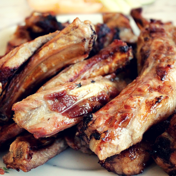 Spareribs i Actifry