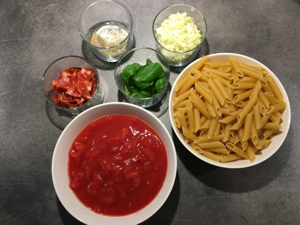 one pot pasta actifry