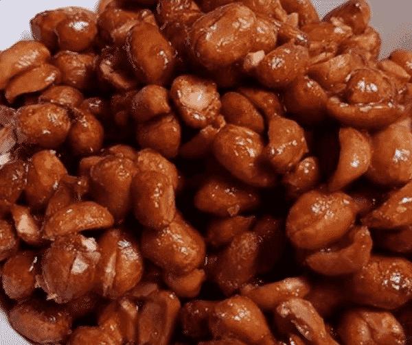 sukker peanuts i actifry