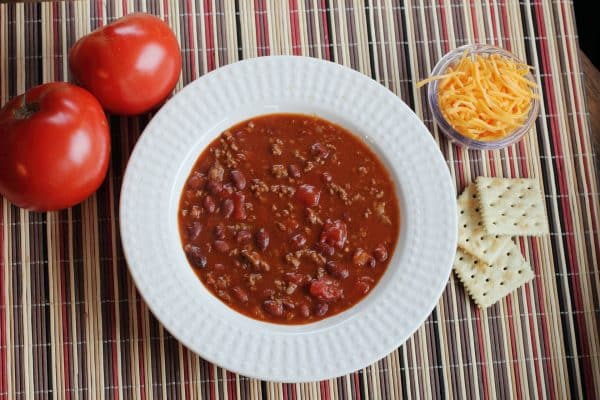 Chili con carne i Actifry