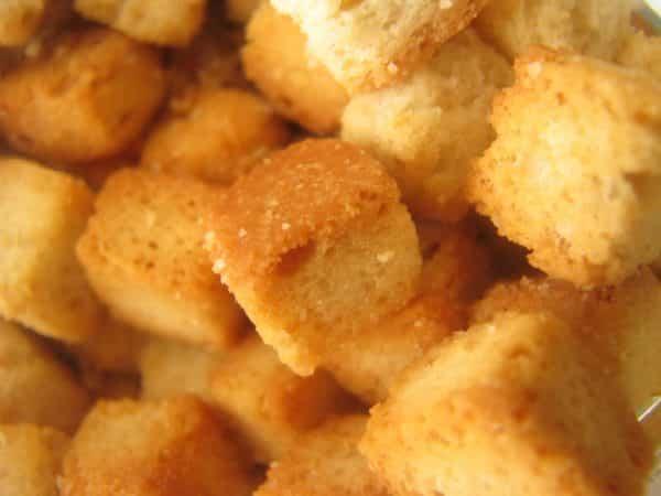 brødcroutoner i actifry