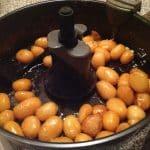 Brunede kartofler Actifry