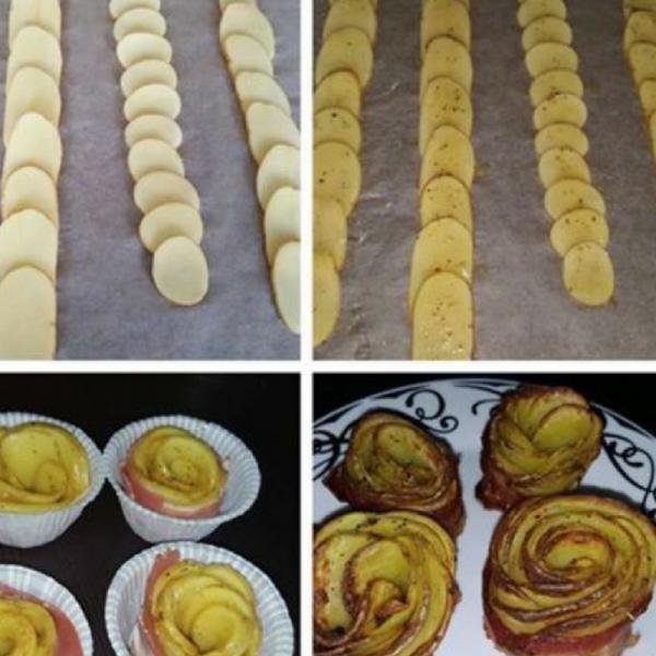Kartoffelroser i Actifry