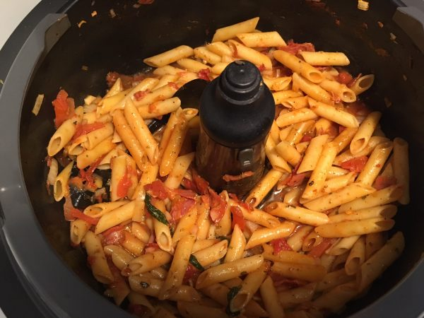 One pot pasta i Tefal Actifry