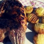 kylling og hasselbach kartofler i actifry 2i1