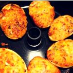 Fyldte kartofler i actifry