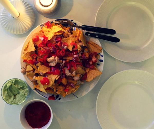 Kylling nachos i actifry